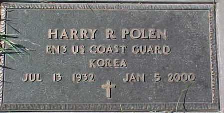 POLEN, HARRY R. (MILITARY MARKER) - Dixon County, Nebraska   HARRY R. (MILITARY MARKER) POLEN - Nebraska Gravestone Photos