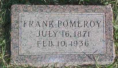 POMEROY, FRANK - Dixon County, Nebraska   FRANK POMEROY - Nebraska Gravestone Photos