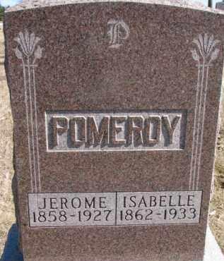 POMEROY, ISABELLE - Dixon County, Nebraska | ISABELLE POMEROY - Nebraska Gravestone Photos