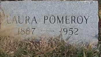 POMEROY, LAURA - Dixon County, Nebraska   LAURA POMEROY - Nebraska Gravestone Photos