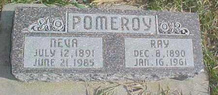 POMEROY, RAY - Dixon County, Nebraska | RAY POMEROY - Nebraska Gravestone Photos
