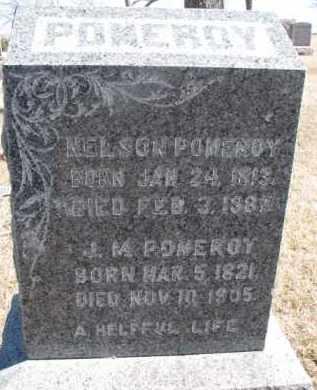 POMEROY, J.M. - Dixon County, Nebraska | J.M. POMEROY - Nebraska Gravestone Photos