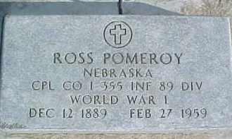 POMEROY, ROSS - Dixon County, Nebraska | ROSS POMEROY - Nebraska Gravestone Photos