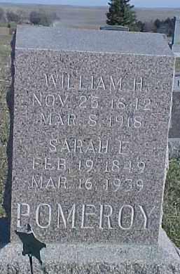 POMEROY, WILLIAM H. - Dixon County, Nebraska   WILLIAM H. POMEROY - Nebraska Gravestone Photos