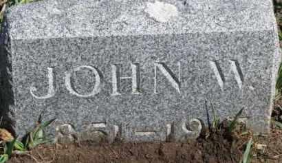PORTER, JOHN W. - Dixon County, Nebraska | JOHN W. PORTER - Nebraska Gravestone Photos