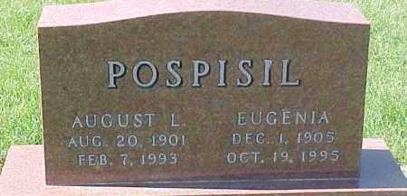 POSPISIL, AUGUST L. - Dixon County, Nebraska | AUGUST L. POSPISIL - Nebraska Gravestone Photos