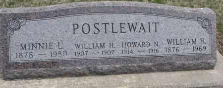 POSTLEWAIT, WILLIAM H. - Dixon County, Nebraska | WILLIAM H. POSTLEWAIT - Nebraska Gravestone Photos
