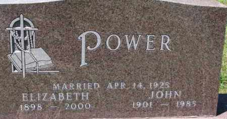 POWER, ELIZABETH - Dixon County, Nebraska | ELIZABETH POWER - Nebraska Gravestone Photos