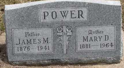 POWER, MARY D. - Dixon County, Nebraska | MARY D. POWER - Nebraska Gravestone Photos