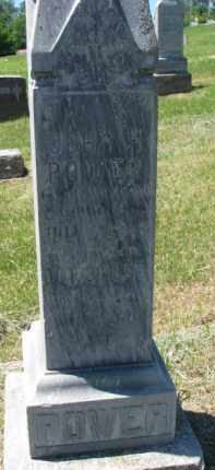 POWER, JOHN H. - Dixon County, Nebraska | JOHN H. POWER - Nebraska Gravestone Photos