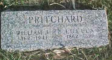 PRITCHARD, LUELLA - Dixon County, Nebraska | LUELLA PRITCHARD - Nebraska Gravestone Photos