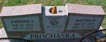PROCHASKA, MARTHA M. - Dixon County, Nebraska | MARTHA M. PROCHASKA - Nebraska Gravestone Photos