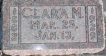 PROUSE, CLARA M. - Dixon County, Nebraska   CLARA M. PROUSE - Nebraska Gravestone Photos