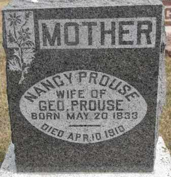 PROUSE, NANCY - Dixon County, Nebraska | NANCY PROUSE - Nebraska Gravestone Photos
