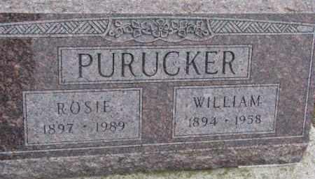 PURUCKER, WILLIAM - Dixon County, Nebraska   WILLIAM PURUCKER - Nebraska Gravestone Photos