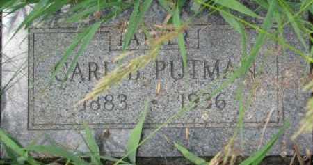 PUTMAN, CARL B. - Dixon County, Nebraska   CARL B. PUTMAN - Nebraska Gravestone Photos