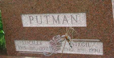 PUTMAN, LUCILLE - Dixon County, Nebraska   LUCILLE PUTMAN - Nebraska Gravestone Photos