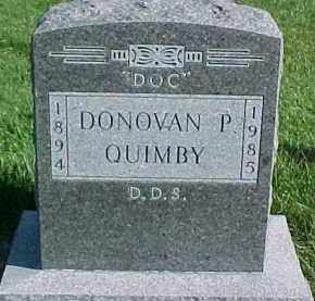 QUIMBY, DONOVAN P. - Dixon County, Nebraska | DONOVAN P. QUIMBY - Nebraska Gravestone Photos