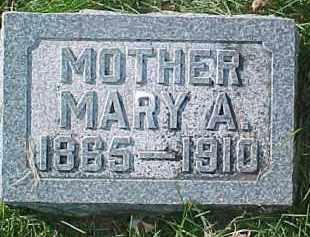 QUIMBY, MARY A. - Dixon County, Nebraska | MARY A. QUIMBY - Nebraska Gravestone Photos