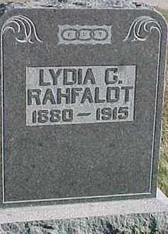 RAHFALDT, LYDIA G. - Dixon County, Nebraska | LYDIA G. RAHFALDT - Nebraska Gravestone Photos