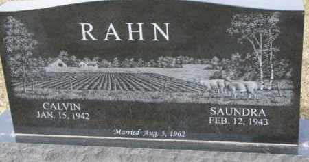 RAHN, CALVIN - Dixon County, Nebraska | CALVIN RAHN - Nebraska Gravestone Photos