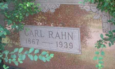RAHN, CARL - Dixon County, Nebraska | CARL RAHN - Nebraska Gravestone Photos