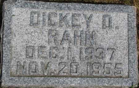RAHN, DICKEY D. - Dixon County, Nebraska | DICKEY D. RAHN - Nebraska Gravestone Photos
