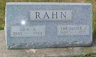 RAHN, THEODORE J. - Dixon County, Nebraska | THEODORE J. RAHN - Nebraska Gravestone Photos