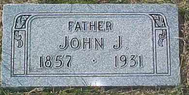 RAHN, JOHN J. - Dixon County, Nebraska   JOHN J. RAHN - Nebraska Gravestone Photos