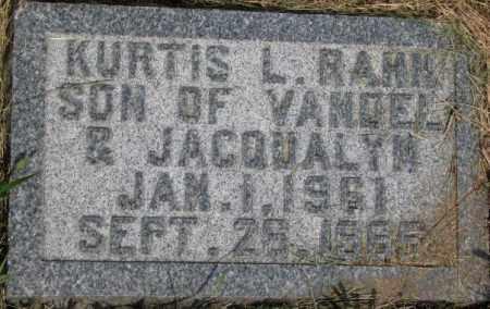 RAHN, KURTIS L. - Dixon County, Nebraska   KURTIS L. RAHN - Nebraska Gravestone Photos