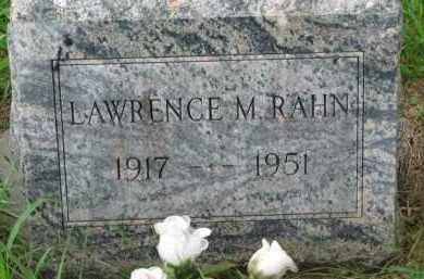 RAHN, LAWRENCE - Dixon County, Nebraska | LAWRENCE RAHN - Nebraska Gravestone Photos