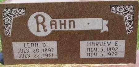 RAHN, LENA D. - Dixon County, Nebraska | LENA D. RAHN - Nebraska Gravestone Photos