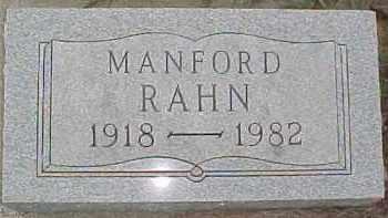 RAHN, MANFORD - Dixon County, Nebraska | MANFORD RAHN - Nebraska Gravestone Photos