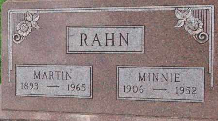 RAHN, MARTIN - Dixon County, Nebraska | MARTIN RAHN - Nebraska Gravestone Photos