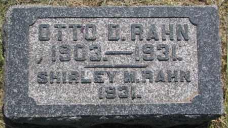 RAHN, SHIRLEY M. - Dixon County, Nebraska | SHIRLEY M. RAHN - Nebraska Gravestone Photos