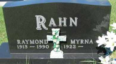 RAHN, MYRNA - Dixon County, Nebraska   MYRNA RAHN - Nebraska Gravestone Photos