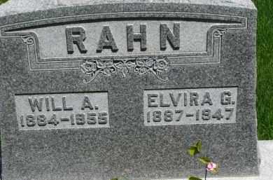 RAHN, WILL A. - Dixon County, Nebraska | WILL A. RAHN - Nebraska Gravestone Photos