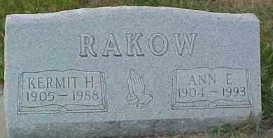 RAKOW, KERMIT H. - Dixon County, Nebraska | KERMIT H. RAKOW - Nebraska Gravestone Photos