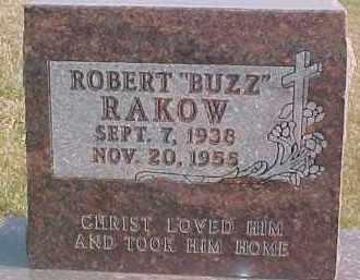 "RAKOW, ROBERT ""BUZZ"" - Dixon County, Nebraska   ROBERT ""BUZZ"" RAKOW - Nebraska Gravestone Photos"