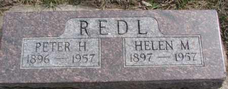 REDL, HELEN M. - Dixon County, Nebraska | HELEN M. REDL - Nebraska Gravestone Photos