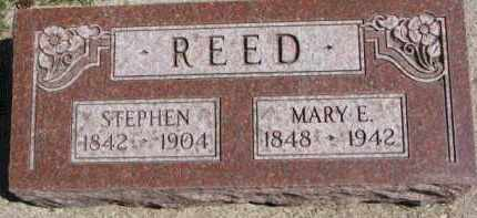 REED, STEPHEN - Dixon County, Nebraska   STEPHEN REED - Nebraska Gravestone Photos