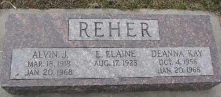 REHER, DEANNA KAY - Dixon County, Nebraska   DEANNA KAY REHER - Nebraska Gravestone Photos