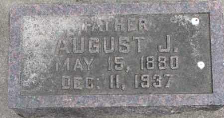 REHER, AUGUST J. - Dixon County, Nebraska | AUGUST J. REHER - Nebraska Gravestone Photos