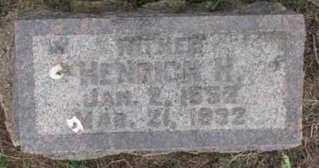 REHER, HENRICH H. - Dixon County, Nebraska   HENRICH H. REHER - Nebraska Gravestone Photos