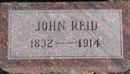 REID, JOHN - Dixon County, Nebraska | JOHN REID - Nebraska Gravestone Photos