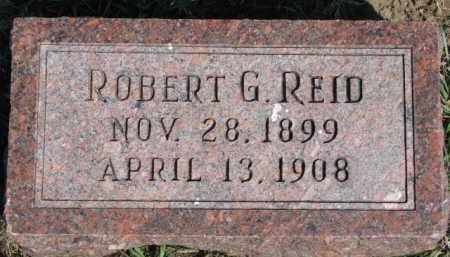 REID, ROBERT G. - Dixon County, Nebraska | ROBERT G. REID - Nebraska Gravestone Photos