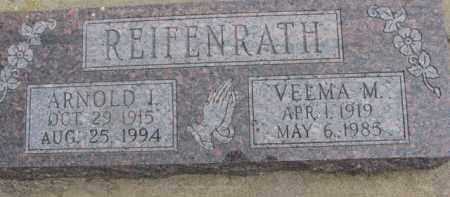 REIFENRATH, VELMA M. - Dixon County, Nebraska | VELMA M. REIFENRATH - Nebraska Gravestone Photos