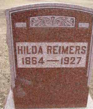 REIMERS, HILDA - Dixon County, Nebraska | HILDA REIMERS - Nebraska Gravestone Photos
