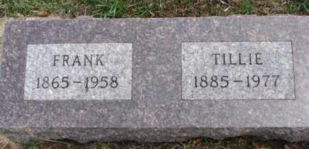 REJMAN, TILLIE - Dixon County, Nebraska   TILLIE REJMAN - Nebraska Gravestone Photos