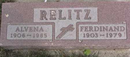RELITZ, ALVENA - Dixon County, Nebraska | ALVENA RELITZ - Nebraska Gravestone Photos